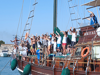 Nikitas boat Kos 10